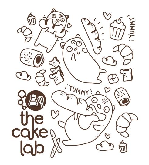 Ilustración The Cake Lab