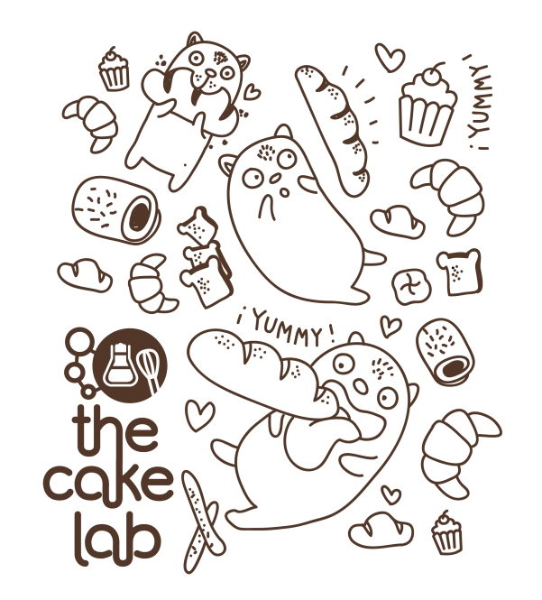 Ilustración The Cake Lab